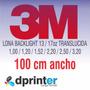 Lona Backlight Impresa X Metro Cuadrado