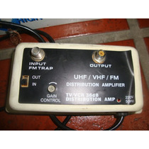 Amplificador Antena Señal Tv 36db Video Cable Vhf / Uhf 220v