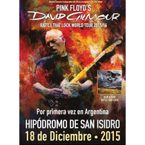 Entrada David Gilmour Vip Paltino C