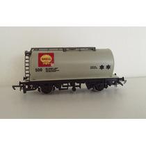 Vagon De Carga Cisterna Shell - Hornby Ingles - 00 H0