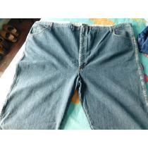 Pantalon Jean Hombre Talle Especial Wrangler Original 60x30