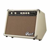 Amplificador De Guitarra Acústica Cort Af30 Audiomasmusica