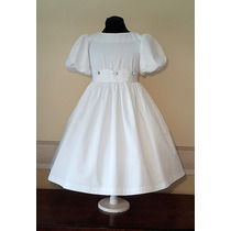 Vestido Importado Nena Bautismo Comunion Casamiento T8 Usa