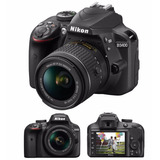 Camara Nikon D3400 Kit 18-55 24mp Reflex Full Hd Bluetooth!