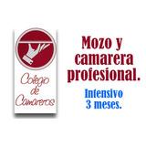 Cursos: Mozo Y Camarera Profesional.maitre Jefe De Camareros