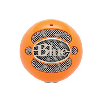 Microfono Usb Blue Snowball Neon Orange - Fact. A Y B