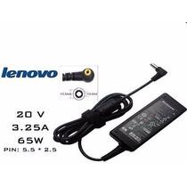 Cargador Notebook Lenovo Ibm Original 20v 3.25a 65w