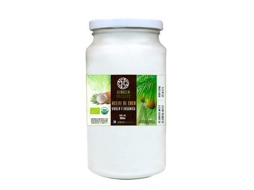 Aceite De Coco Virgen Organico Primera Prensada Aroma 800ml