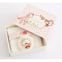Caja Personalizada + Jabón + Toallita - Souvenirs