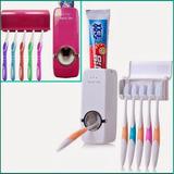 Dispenser Pasta Dental Porta Cepillo 2 En 1 Soporte Touch Me