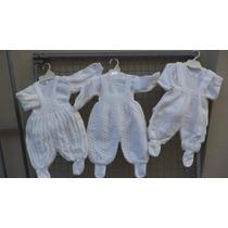 2 Conjuntos Abrigaditos Bebes-batita Y Jardinero Prasmedidas