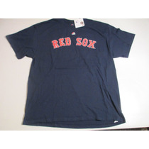 Remera Baseball Boston Red Sox Majestic Napoli 12 Talle Xl