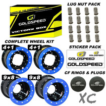 Kit De Llantas Goldspeed Victory Box Vb-3 En '10 Y '9