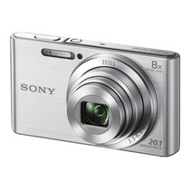 Sony W830 20mpx 8x Memo 16gb Cl10 + Funda + Tripode + Lector