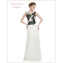 Bellisimo Vestido Novia Gasa Importado Moda Pasión