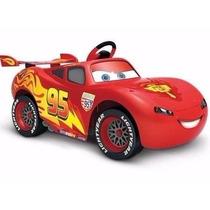 Auto A Bateria Electrico Cars Mc Queen Control Mp3 Disney