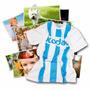 Impresion Digital Kodak X40 Fotos 15x20 + Camiseta Argentina