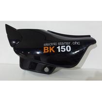 Cacha Lateral Beta Bk 150 Izquierda Negro Original