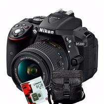 Nikon D5300 Kit 18.55 Vr + Sd8gb + Bolso Supera D3200 D5200!