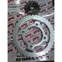 Kit Transmicion Piñon Y Corona Gilera Vc 150 Gpg Rpm Zn!!!