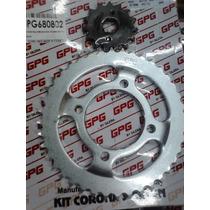 Kit Transmicion Piñon Y Corona Gilera Vc 150 Gpg Rpm Znorte