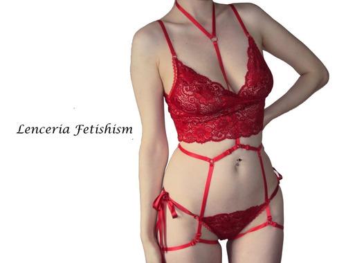5a869f463e46 Conjunto Mujer. Lenceria Hot. Ropa Interior Femenina Corpiño en ...