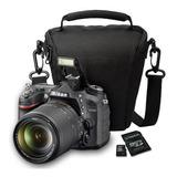 Nikon D7200 Kit 18-140mm Vr 24.2mp Full Hd + Sd + Bolso