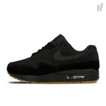 Nike Air Max 1 Premium Black Gum Medium Brown