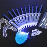 Blanqueador Dental Whitening Oral Gel 44%  10 Jeringas Kit