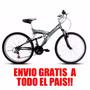 Bicicleta Mountain Mega 24 Doble Susp. Envios/cargotrp Bike