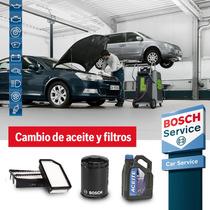 Cambio Aceite Y Filtros Corolla 08 Cuot S/int Service Bosch
