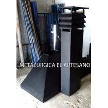 Campana P/ Parrilla Tiraje Y Sombrero 1.90m Ancho