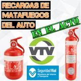 Recarga De Matafuegos Para Auto, Coche, Abc X 1 Kg, Patente