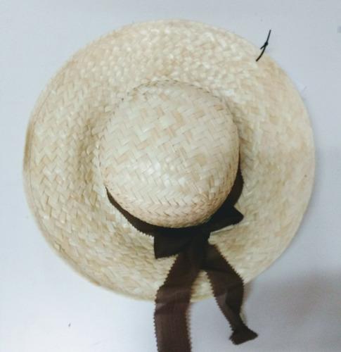 Sombrero Capelina Infantil De Paja Campesino Con Flecos -   279 en ... 2a694c683aa