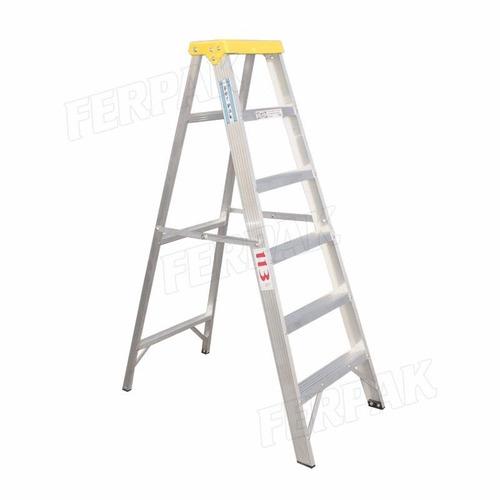 Escalera aluminio familiar 3 escalones 100 ind argentina for Precio escalera aluminio