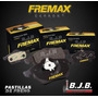 Juego Pastilla Freno Fremax Del Toyota Hilux 4x2 Desde 2000