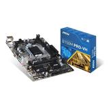Motherboard Intel Msi B150m Pro-vh Plus 1151 Ddr4 Hdmi Full