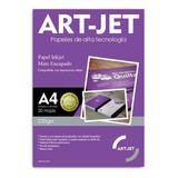 Papel Fotografico Doble Faz Mate Art-jet® A4 220g 20 Hojas