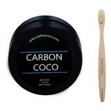 Blanqueador De Dientes Carbon Coco Cepillo Bambu Oferta!!!!!