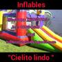 Alquiler De Castillo Inflable, Cama Elastica.