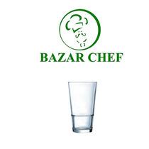 Arcoroc - Vaso Apilable Templado 35 Cl X6 - Bazar Chef