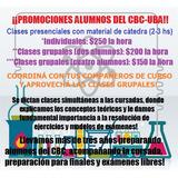 Clases Química Física Biofísica Biología Mat Cbc Univ Secund