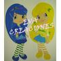 Carteles Infantil Figura Minnie Bb Kitty Disney En Goma Eva