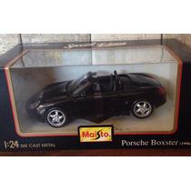 Porsche Boxster Ed Limitada Caja Cerrada Maisto 1.24 Nuevos