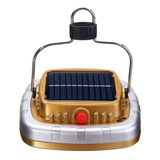 Lampara Led Recargable Usb Con Panel Solar Camping