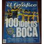 El Grafico 100 Idolos De Boca Juniors Libro De Coleccion
