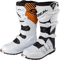 Botas Motocross Oneal Rider 2017 Nuevas Color Blanco / Usa