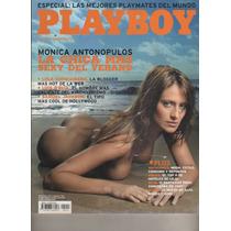 revista playboy - monica antonopulus - nº 13 - año 2007 en
