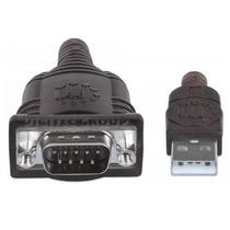 Cable Adaptador Conversor Usb A Serial Rs232 Db9 Manhattan