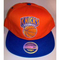 Gorra Visera Plana Snapback Nba Knicks New York
